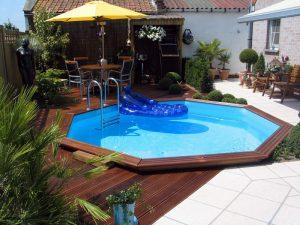 Idée piscine bois